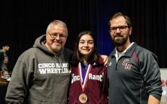 Junior Isabella Walsh takes 4th in State Wrestling