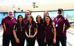 The Girls Bowling squad Wins the Region VIII Title and Advances to State in Late March