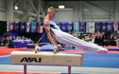 Senior Ronan McQuillan has been involved in gymnastics since he was six years old. He will be continuing this involvement this fall as he attends the United States Naval Academy in Annapolis, Maryland.