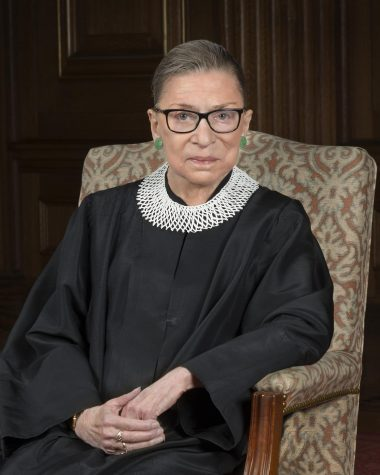 Supreme Court Justice Ruth Bader Ginsburg poses for a picture in an undated picture.