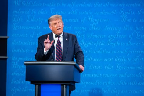The first presidential debate of the 2020 election was held Tuesday, September 29, at Case Western Reserve University in Cleveland, Ohio.