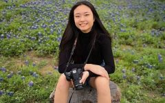 Senior Avery Wang takes pictures at Lady Bird Johnson Wildlife Center in March of 2019.