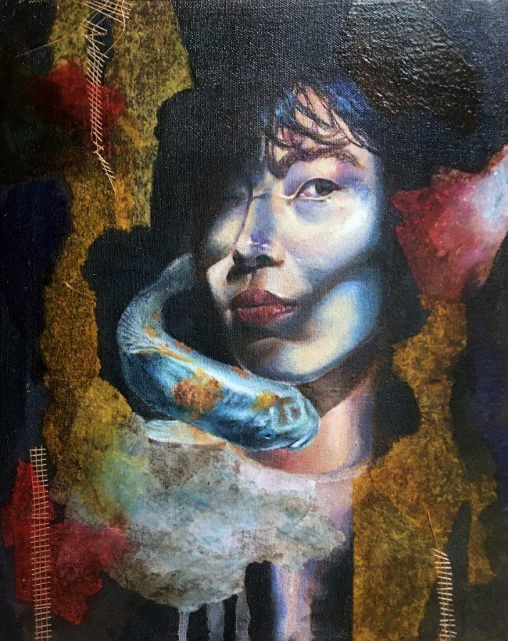 Zhang's painting,